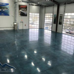 NWA Concrete Polishing- Stained Polished Concrete