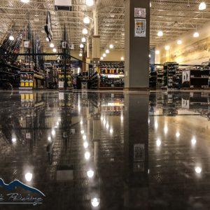 NWA Concrete Polishing - Bass Pro Shops Rogers, AR