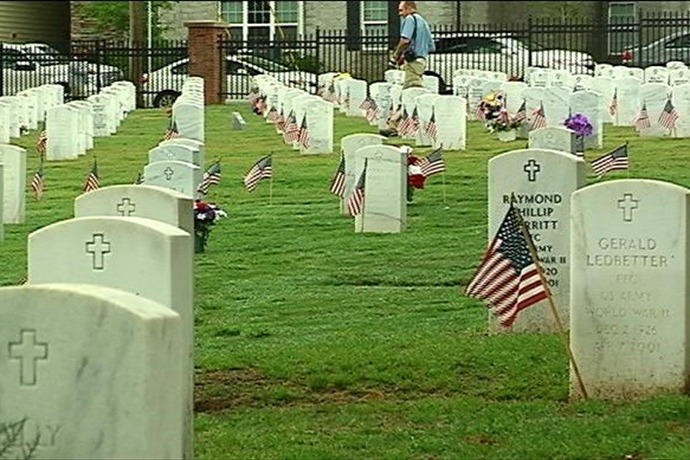 Thousands Honored at Fayetteville National Cemetery for Memorial Day_5614010179151415195