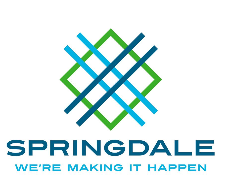 City of Springdale Debutes 'Crossroads' Logo
