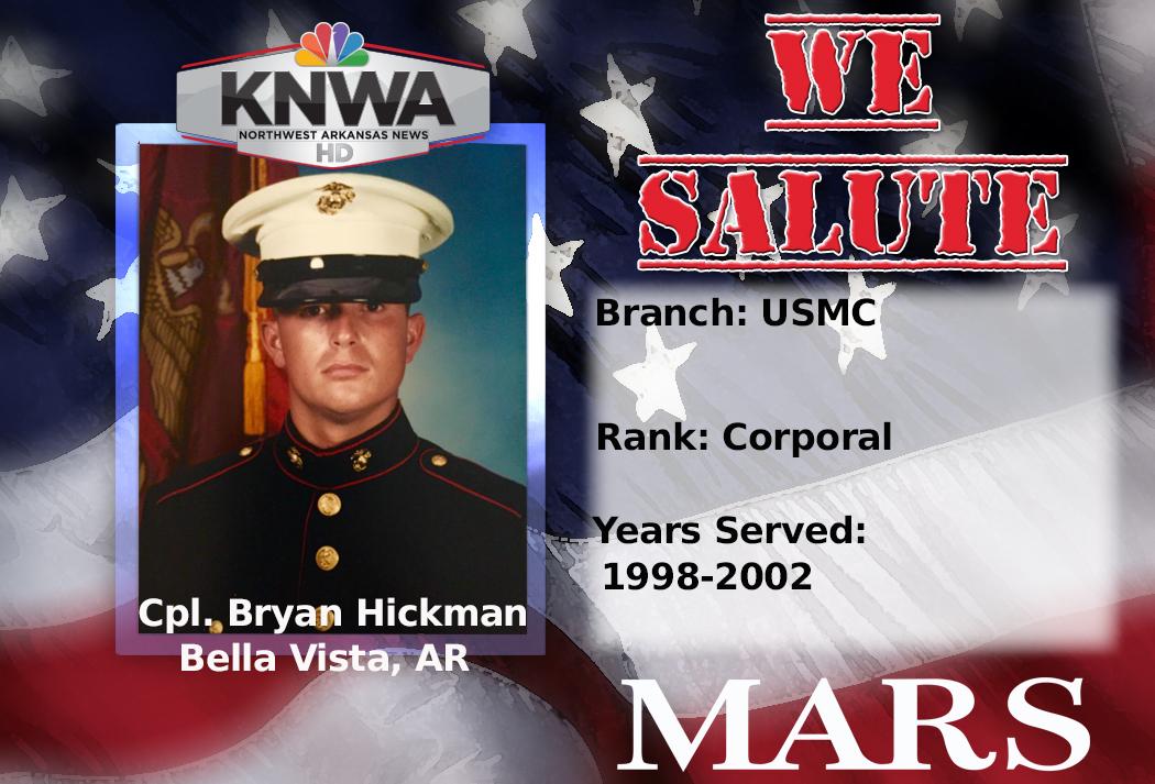 We Salute Cpl. Bryan Hickman_1478875969696.jpg