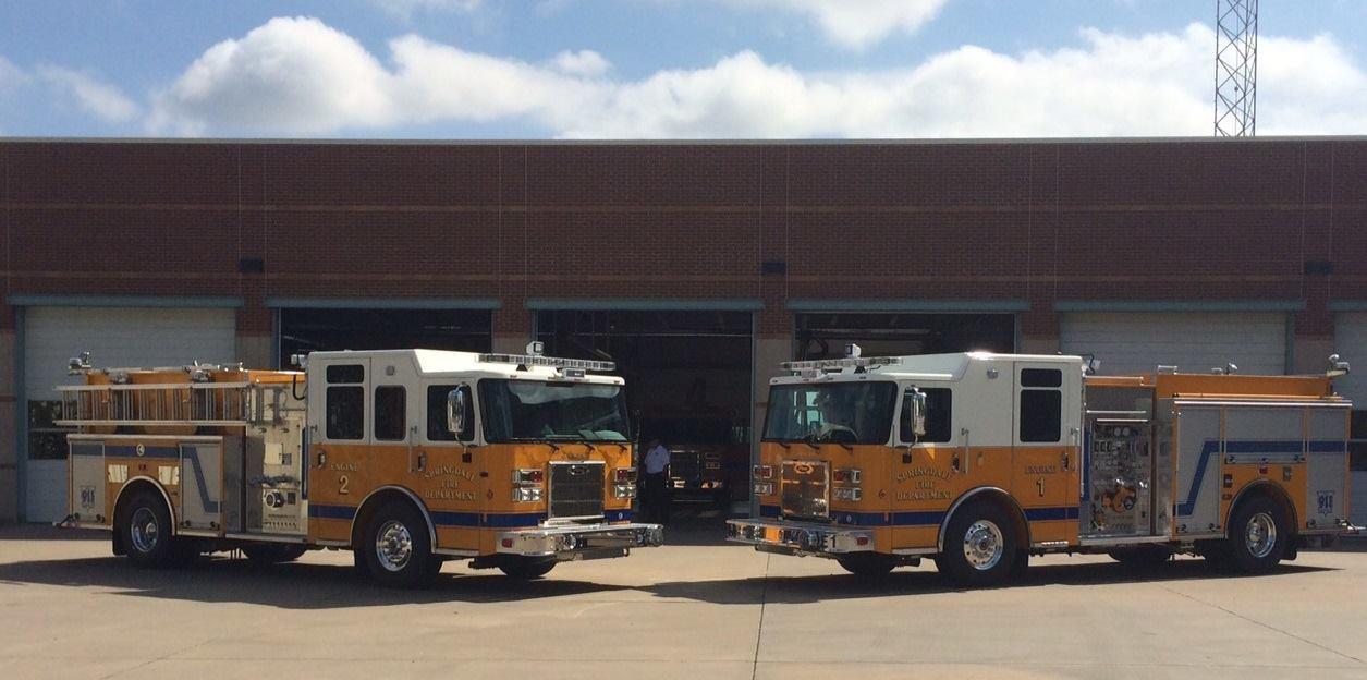 Springdale fire trucks engines