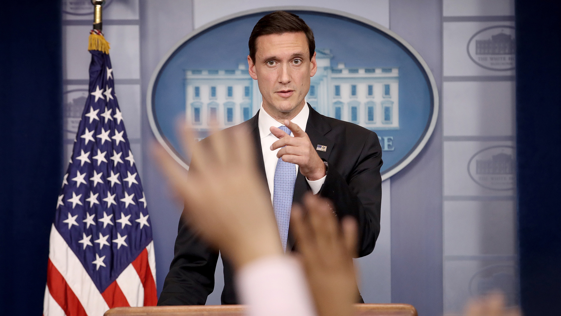 Tom Bossert, White House Homeland Security Advisor, briefing, Irma47206032-159532