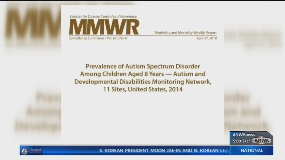 Study shows Autism prevalence increases: Now 1 in 59 US children