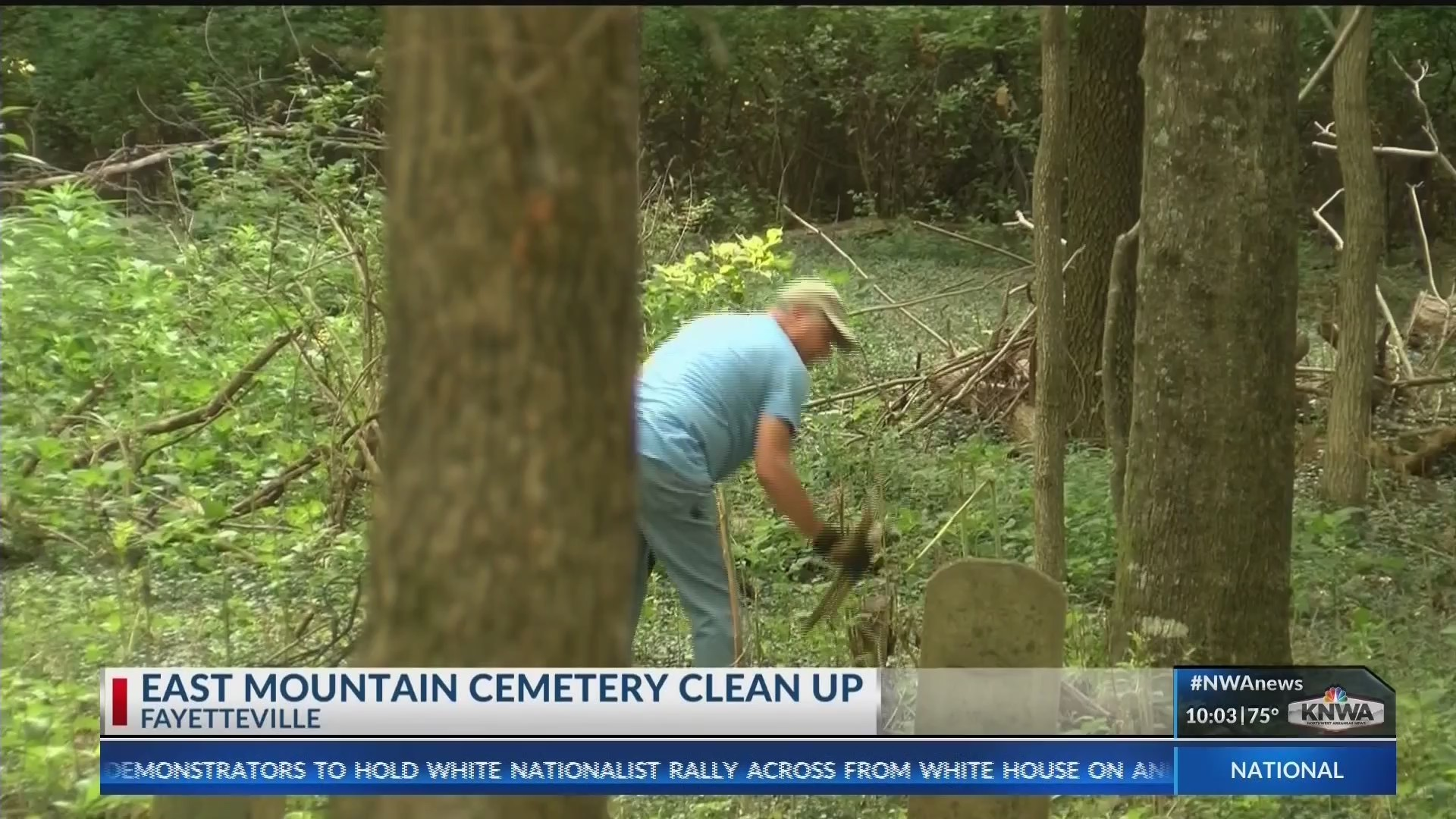 Volunteers Band Together to Restore East Mountain Cemetery
