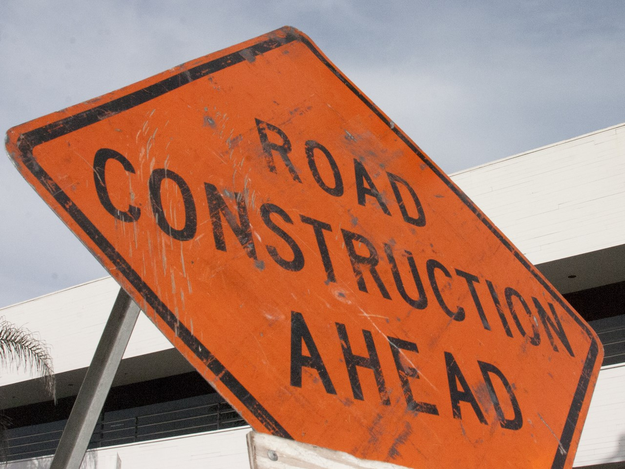road construction at u of a
