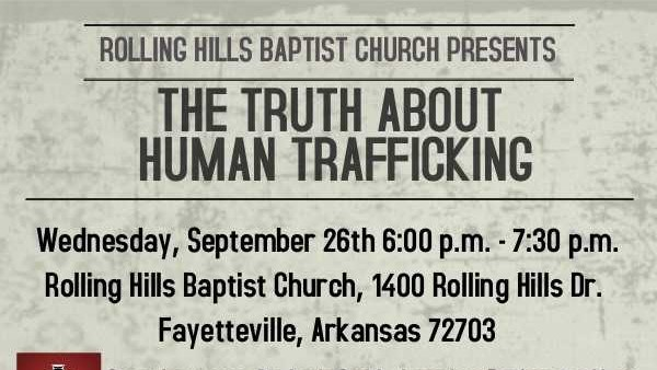 Local Church Hosts Presentation on Truth About Human Trafficking