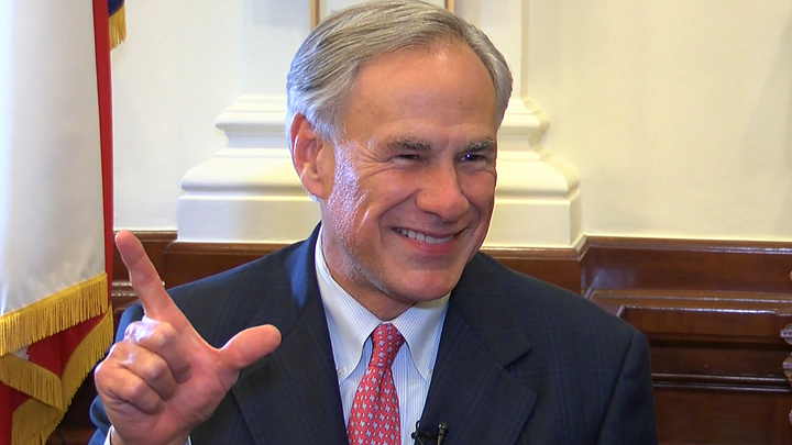 Governor Greg Abbott Guns Up 720 in Austin-54787063