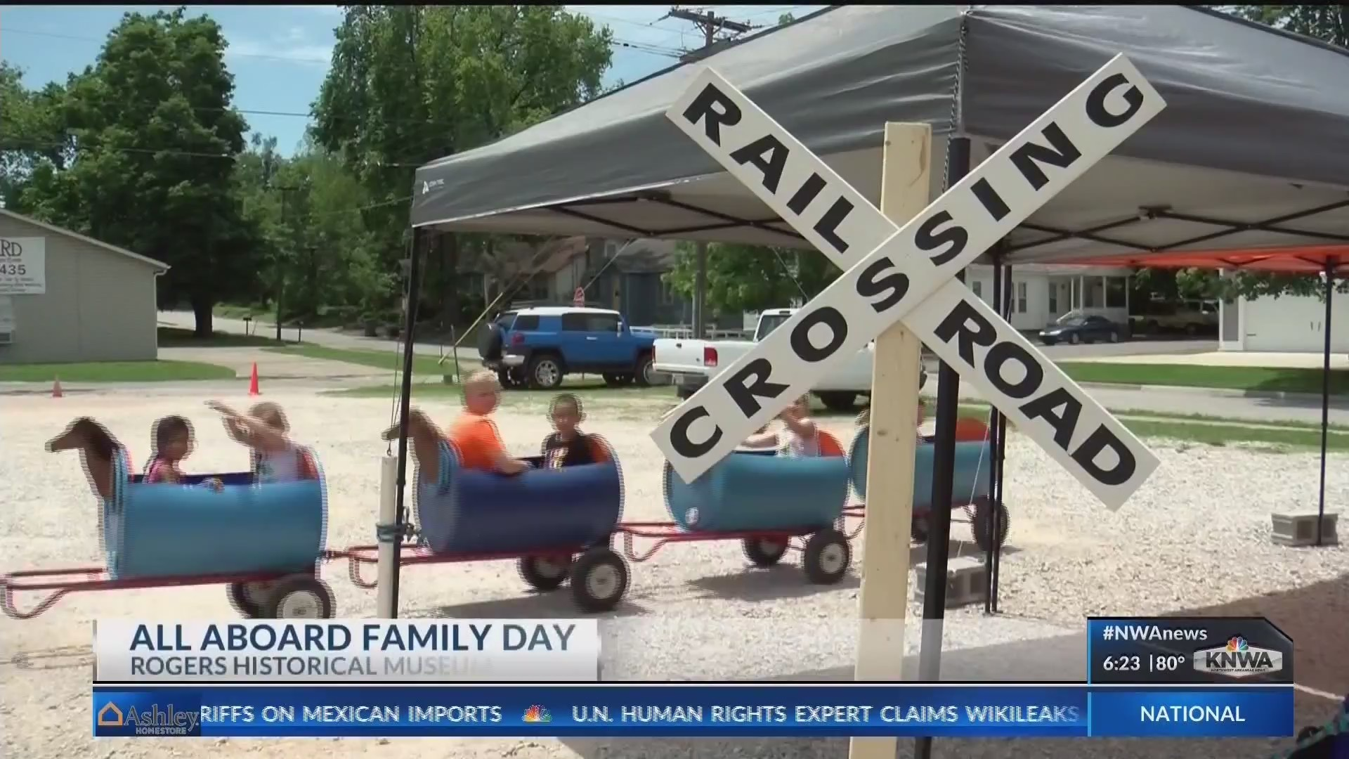 'All aboard!': Rogers Historical Society hosts family fun day (KNWA)