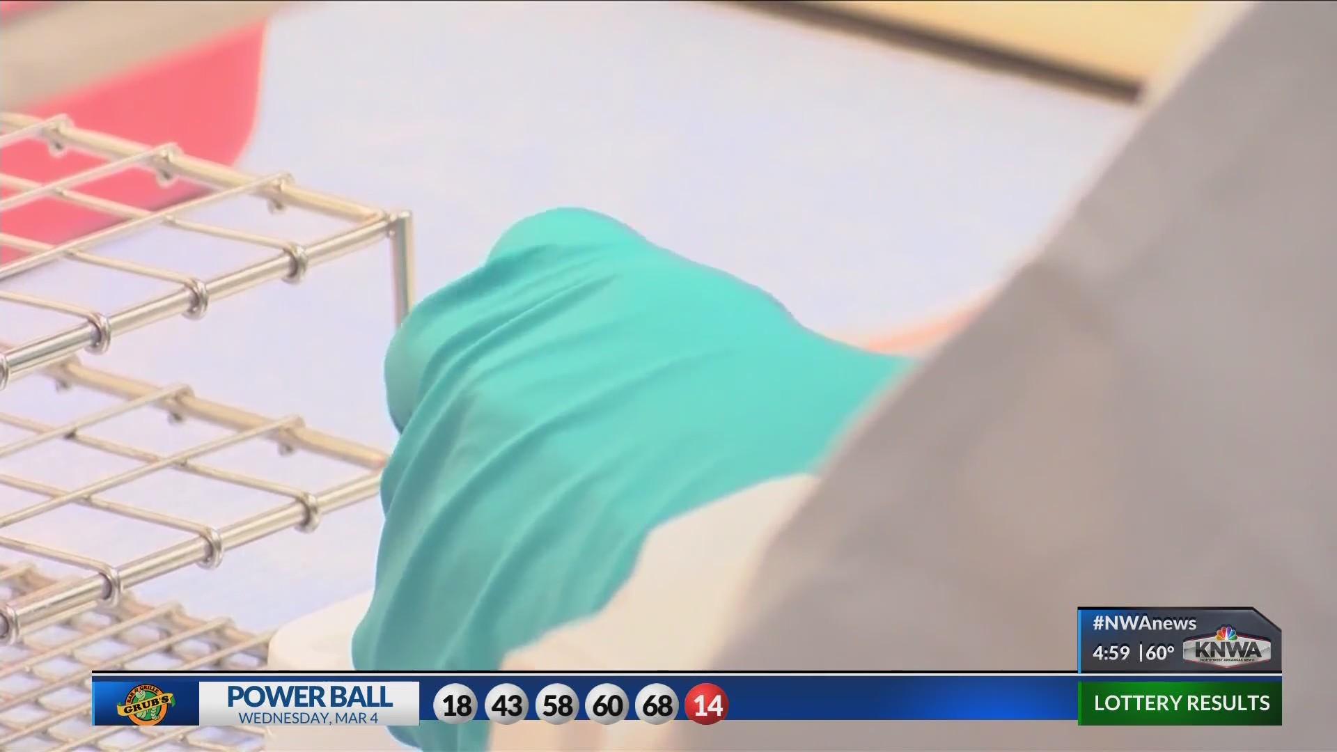 Health department receives new corona virus test kits
