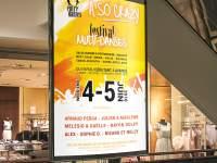 Réalisation d'une affiche pour le festival de danse donné par l'association