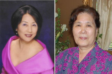 Young Hee Kim (left) and Kyung-Ah Oh
