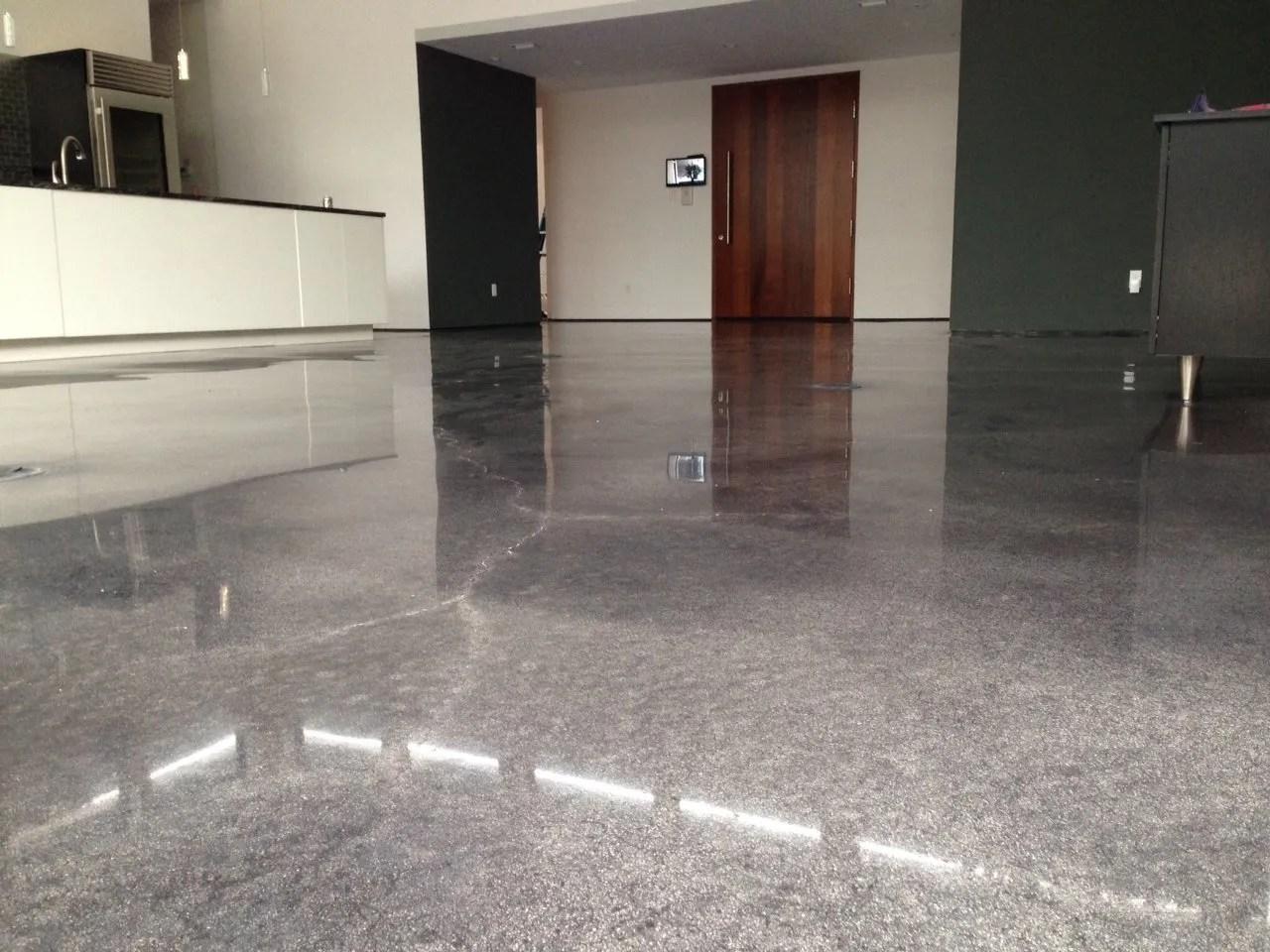 Decorative and Durable Indoor Concrete Flooring Options