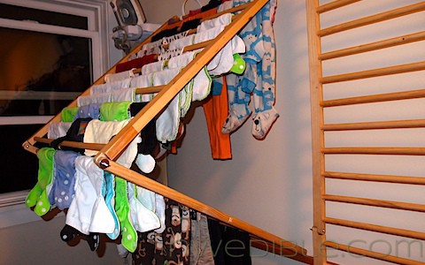 Wall Mounted Clothes Drying Rack, Perfected