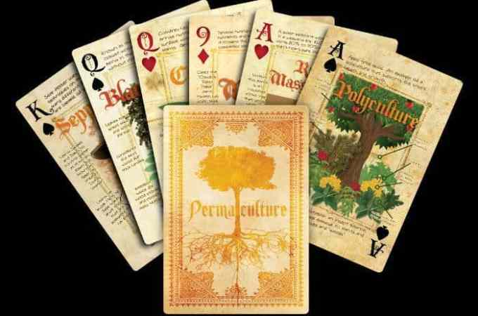{Giveaway} Permaculture Playing Cards