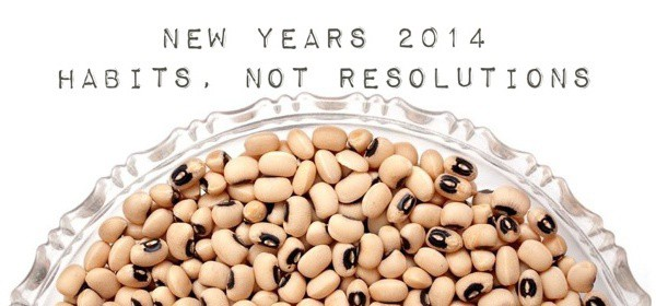 Habits, Not Resolutions. Here, Not There