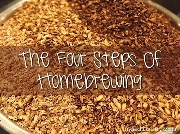 Four Steps Of Homebrewing