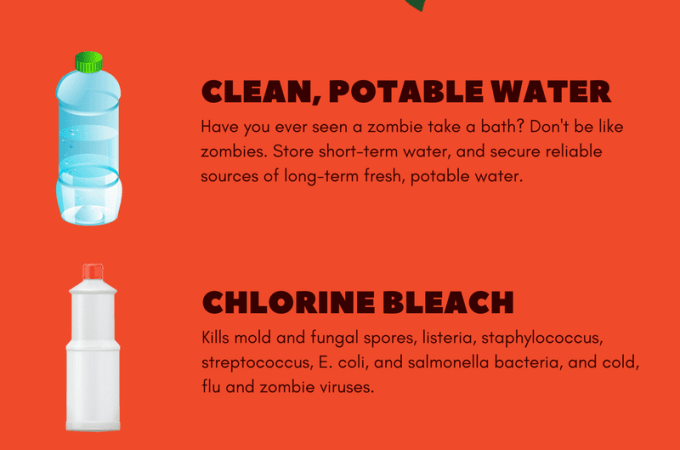 Top 5 Cleaning Products To Hoard For The Zombie Apocalypse