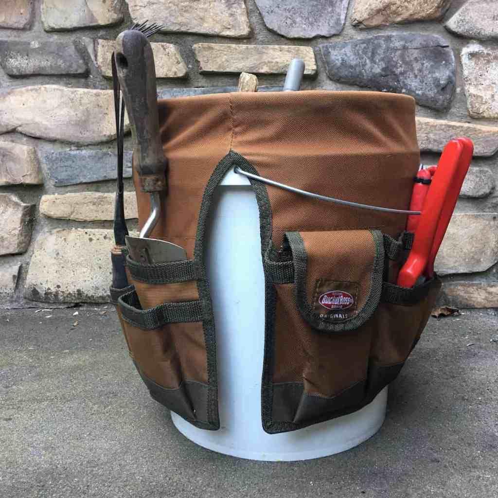 Bucket Apron Tool Storage
