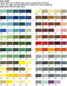 Bs  colour chart also nwe paints choice of charts bs ral  rh nwepaints