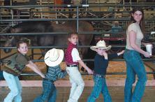 Cowboy train!