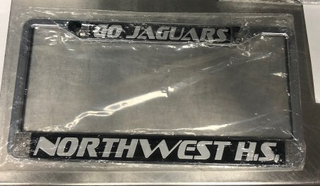 License Plate Frame: $10 (VERY LIMITED QUANTITY)