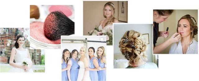 wedding hair and makeup hampshire | nw makeup