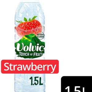 Volvic Touch of Fruit Cherry Natural Flavour Low Sugar 1.5Lt