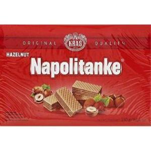 Kras Napolitanke Wafer with Hazelnut 330g