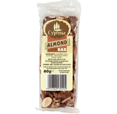 Cypressa Almond Bar 60g