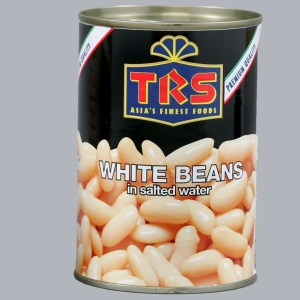TRS White Beans in Salted Water 400g