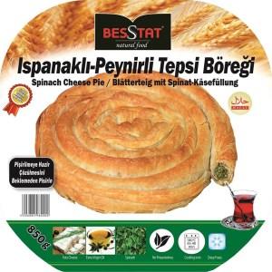 Besstat Spinach White Cheese Pie 850g