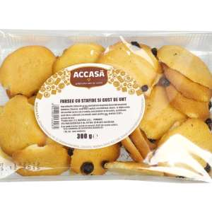 Accasa Shortbread Cookies with Raisins and Butter Taste 300g