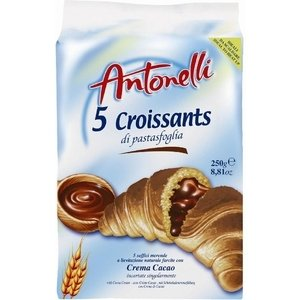 Antonelli 5 Croissants Chocolate 250g