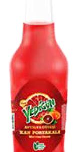Yedigun Blood Orange Twisted Glass Bottle 250ML