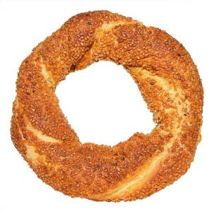 Turkish Traditional Bagel Simit Cooked