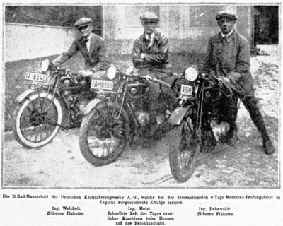 1925 NORTON RACING MOTORCYCLE Photo 169-L