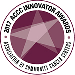 2017 Association of Community Cancer Centers Innovator Awards Logo