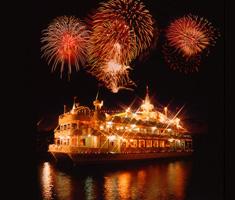 洞爺湖花火大会の観賞船