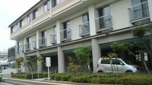 介護老人施設シェスタ裏の高台|宮島水中花火大会の穴場スポット