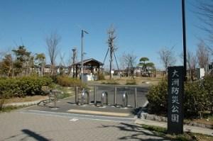 江戸川区花火大会の穴場スポット 大洲防災公園