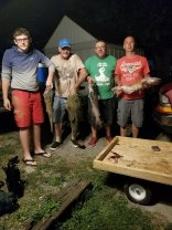 Catfishing at the Muamee River