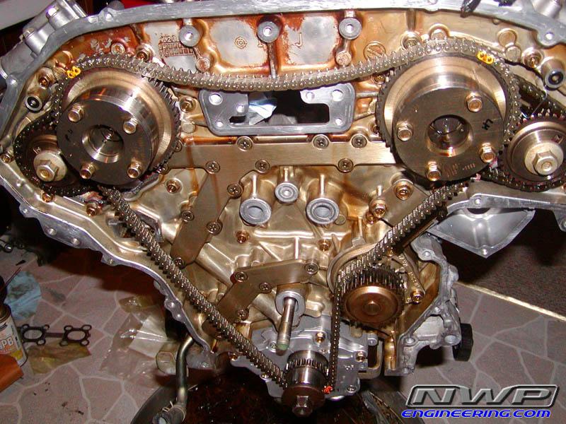Subaru 2 5 Engine Timing Chain