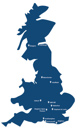 NWP project locations. Work here via NWP Resourcing
