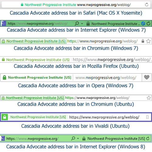 Browse with confidence: NPI's core network now encrypting all visits by default - NPI's Cascadia Advocate