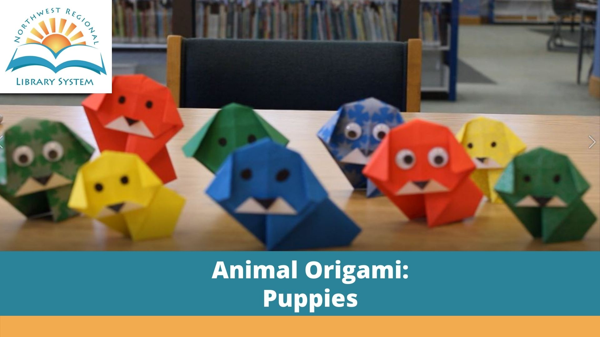 animal origami puppies