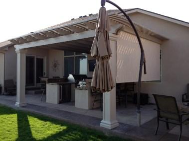 Stucco Standard Solar Shade