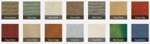 Texture Awning Fabric Samples