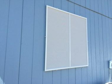 White-Grey Solar Screens