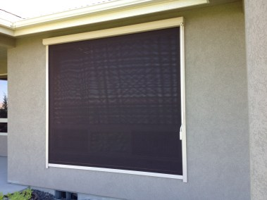 Manual Bronze Window Shade